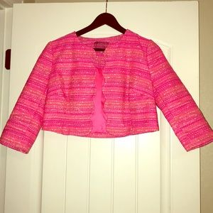 Lilly Pulitzer Wonda Scalloped Brocade Jacket